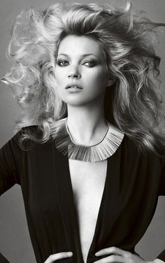 Kate Moss by Mario Testino, Vogue Brazil