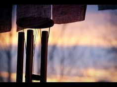 ▶ Wind Chimes with babbling brook, nature sounds, gentle, natural music for sleep   Deeply relaxing - YouTube