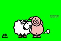 loveloonies (Bèrry and Ig, the farting pig) by Richard Vriens, © 2013