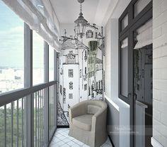 отделка балкона в скандинавском стиле: 20 тыс изображений найдено в Яндекс.Картинках