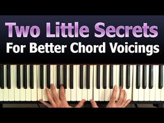 This one's not for the beginner. The progression is simple enough A C G D, but I move fairly quickly so you've got to know your chords. This video demonstrat. Piano Y Violin, Piano Music, Piano Chord, Sheet Music, Piano Lessons, Music Lessons, Rock N Roll, Piano Exercises, Piano Quotes