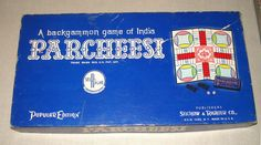 Vintage Parcheesi Game Selchow and Righter Co. 1959 #SelchowandRighter