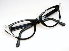 2c6f4446e7b Vintage Black Tura Cat Eye Eyeglasses Frame NOS. Cheap Ray Ban ...