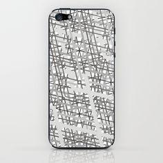 grey iPhone & iPod Skin by creaziz - $15.00