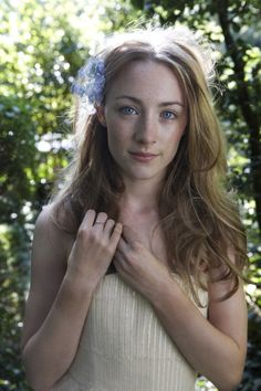 I was asked who would play me in a movie .. Definitely Saoirse Ronan .