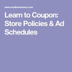 Learn to Coupon: Store Policies & Ad Schedules Grocery Coupons, Shopping Coupons, Shopping Sites, Grocery Store, Polymer Clay Kawaii, Budget Organization, Buy One Get One, Miniature Food, Kawaii Fashion