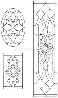 M7 Faux Stained Glass, Stained Glass Designs, Stained Glass Panels, Stained Glass Projects, Stained Glass Patterns, Leaded Glass, Mosaic Patterns, Mosaic Glass, Glass Painting Designs