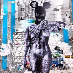 Miss Me in Bologna with CHEAP street poster art #streetart