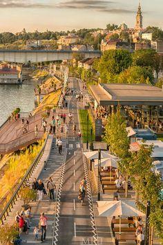 Savska promenada - Beograd