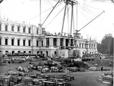 -File Photo of White House Under Construction