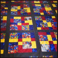 Lynette on Life: Superman Quilt