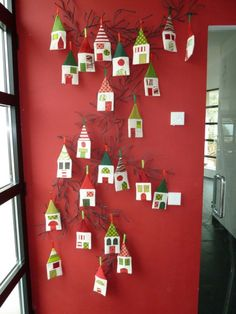 This is so cute you coule leave the branch up and change it for the season's.