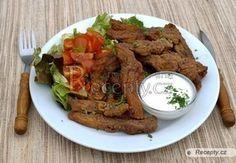 Hranolky z kapra Beef, Cooking, Food, Meat, Kitchen, Cuisine, Koken, Ox, Ground Beef