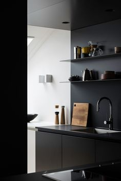392 best black kitchens images in 2019 kitchen black kitchen rh pinterest com