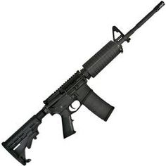 Core15 M4 Scout AR-15 Semi Auto Rifle .223 Rem/5.56 NATO 16 Barrel 30 Round Capacity Front Sight Tower M4 Handguard Collapsible Stock 100425