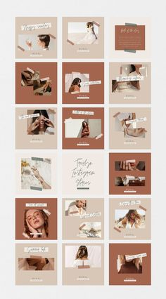 Instagram Feed Planner, Instagram Feed Ideas Posts, Instagram Feed Layout, Feeds Instagram, Instagram Grid, Instagram Post Template, Story Instagram, Creative Instagram Stories, Instagram Design