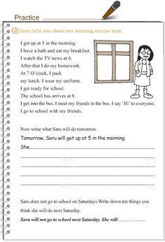 Grade 3 Grammar Lesson 11 Verbs - the simple future tense (3)