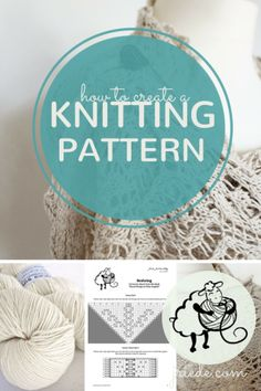 How To Create a Knitting Pattern Knitting Tutorials