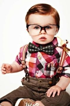 If I ever have a little boy, he will dress just like that! (: