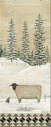 Winter Wool print