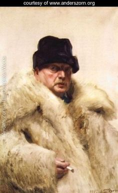 (Self-portrait in a wolfskin)