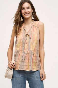 Faye Tank #anthropologie