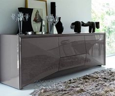 272 best buffet table images on pinterest buffet tables buffet this modern buffet is sure to add style to any contemporary dining room manufactured by rossetto watchthetrailerfo