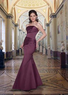 Da Vinci Bridesmaid 9261 Fabric Satin #timelesstreasure