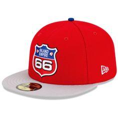 Inland Empire 66ers of San Bernardino Authentic Road Fitted Cap - MLB.com Shop