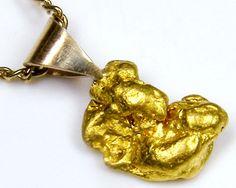 GOLD NUGGET PENDANT   1.93 GRAMS LGN 827  gold nuggets , gold nugget pendants