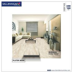 Your #interior  is will make a lasting impression when the #flooring is done correctly! Millennium Tiles offers you the right selection of tiles to choose from huge product range for every taste.  Millennium Tiles 600x1200mm (24x48) Digital Brilliante Recta PGVT Porcelain Floor #Tiles  - Random Print Technology: A #Design with several variations without a systematic pattern or discernible sequence in its appearance. A non-repetitive #pattern creates a surface that makes every #room look…