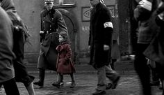 This girl? Traumatized by Schindler's List. #redcoatgirl