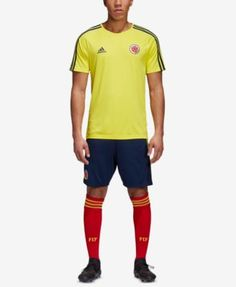 f721d2fc4 adidas Men s Colombia Soccer Shirt - Yellow XXL Colombia Soccer
