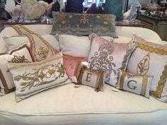 Rebecca Vizard B Viz Pillows Available At Segreto Boutique Karen Segretofinishes