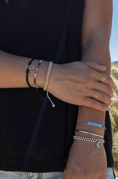 Gold Wave Rings   Pura Vida Bracelets