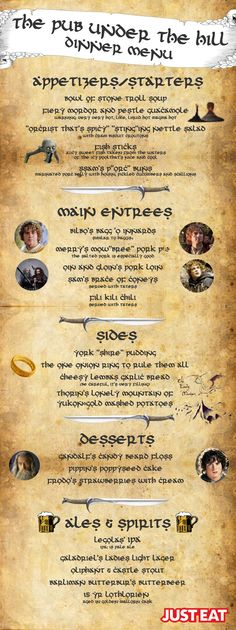 Fan of the Hobbit? Here's some LOTR inspired foods