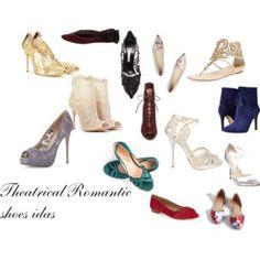 Theatrical Romantic shoes ideas