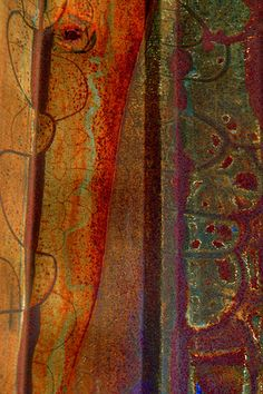 Fandango, painterly rust by LuAnn Ostergaard, via flickr