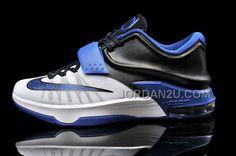 http://www.jordan2u.com/cheap-kd-7-white-black-blue-basketball-shoes-for-sale.html Only$99.00 CHEAP KD 7 WHITE BLACK BLUE BASKETBALL #SHOES FOR SALE #Free #Shipping!