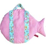 Back of fish backpack
