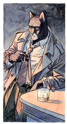 Juanjo Guarnido - Le chat détective Blacksad