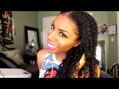 Review│Heat Free Hair Clip Ins For Kinky Hair textures! - YouTube