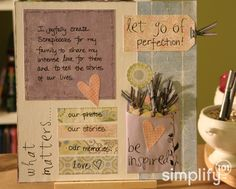 5 good organizing tips for scrapbookers!