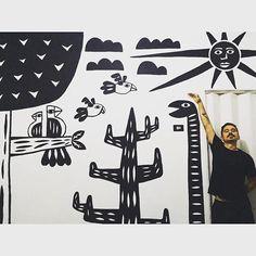 Agora tenho um sertão pra chamar de meu ☁️ #estiloxilo #xilogravura #xylography #sertão #nordeste #regional #artenordestina #nacaonordestina #eucurtorecife #culturanordestina #cordel #ilustração #illustration #draw #drawing #desenho #sousertão #blackandwhite #design #artdesign #instaart #instaartist #artwork #artist #sketching #sketches #art #artwork #nanquim #graphicdesign #designgrafico