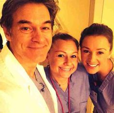 """Jamie tweeted the news herself, posting a photo of herself posing with Oz and a fellow nurse. She captioned the pic """"Fun day at @nyphospital! Assisted @DrOz w a delivery. And a tough delivery it was! Watch the show to see! #droz #nyphospital."""" We're glad Jamie had """"fun"""", though we're doubting the woman undergoing the """"tough delivery"""" found the experience quite as enjoyable…"""