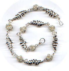 Twister Necklace - by L.Jones