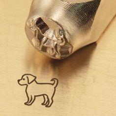 Puggle Metal Design Stamp by ImpressArt
