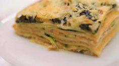Lasagne met gerookte zalm, courgette en spinazie | Dagelijkse kost