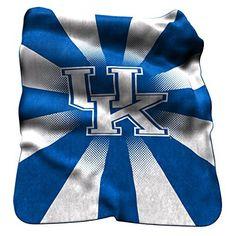 NCAA Kentucky Wildcats Raschel Throw Blanket by Logo Inc. NCAA Kentucky Wildcats Raschel Throw Blanket. One Size.