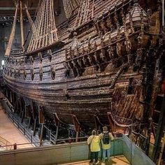 """Geologist 😎 on Instagram: """"The Vasa warship sank at the occasion of his inaugural journey in Stockholm in 1628. After 333 years at the bottom of the sea, the…"""" Geology, Stockholm, City Photo, Transportation, Sink, Father, Journey, Instagram, Sink Tops"""